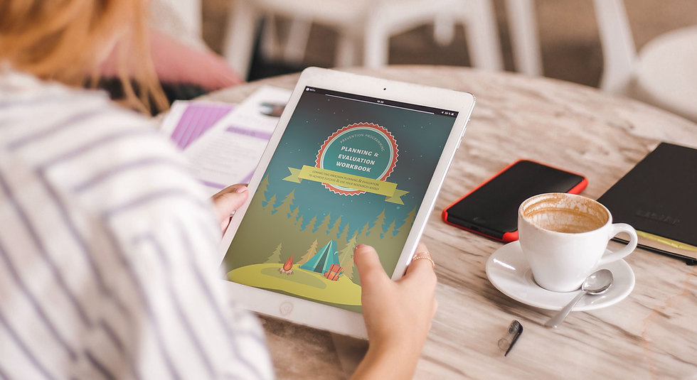 Digital Download: Planning & Evaluation Workbook
