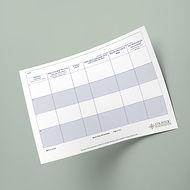 Work Plan - Worksheet