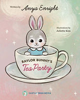 Children's Book: Baylor Bunny's Tea Party