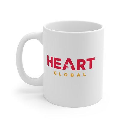 ⭐️ HEART Global Mug - WHITE
