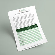 Identifying Coalition Resources - Worksheet