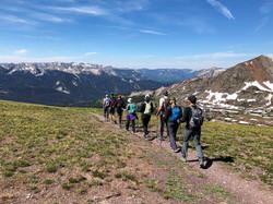 Descending near Crested Butte