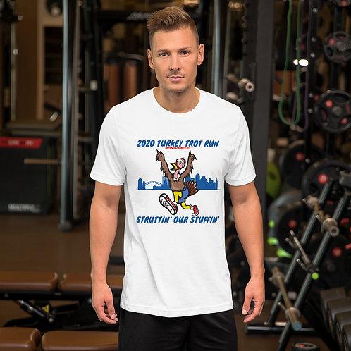Short-Sleeve Unisex T-Shirt - Turkey Trot Run 2020