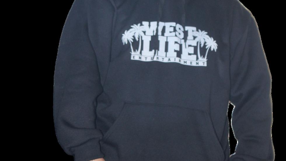 West Life Entertainment Black Hoodie
