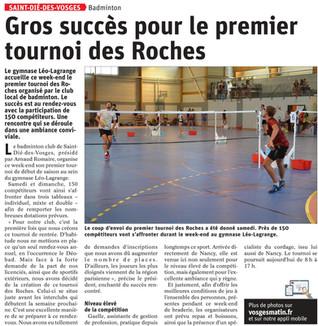 Tournoi des Roches 2020