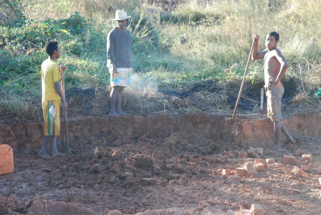 La fabrication des briques