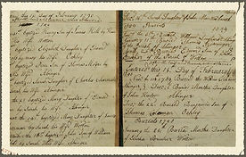 Family & Parish History : West Knoyle : Baptism Register