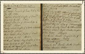 Family & Parish History : West Knoyle : Baptism Register