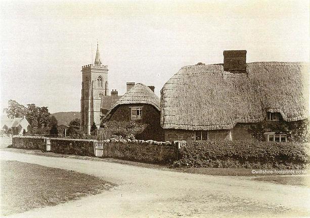 Family & Parish History : Semley : The Green c1900