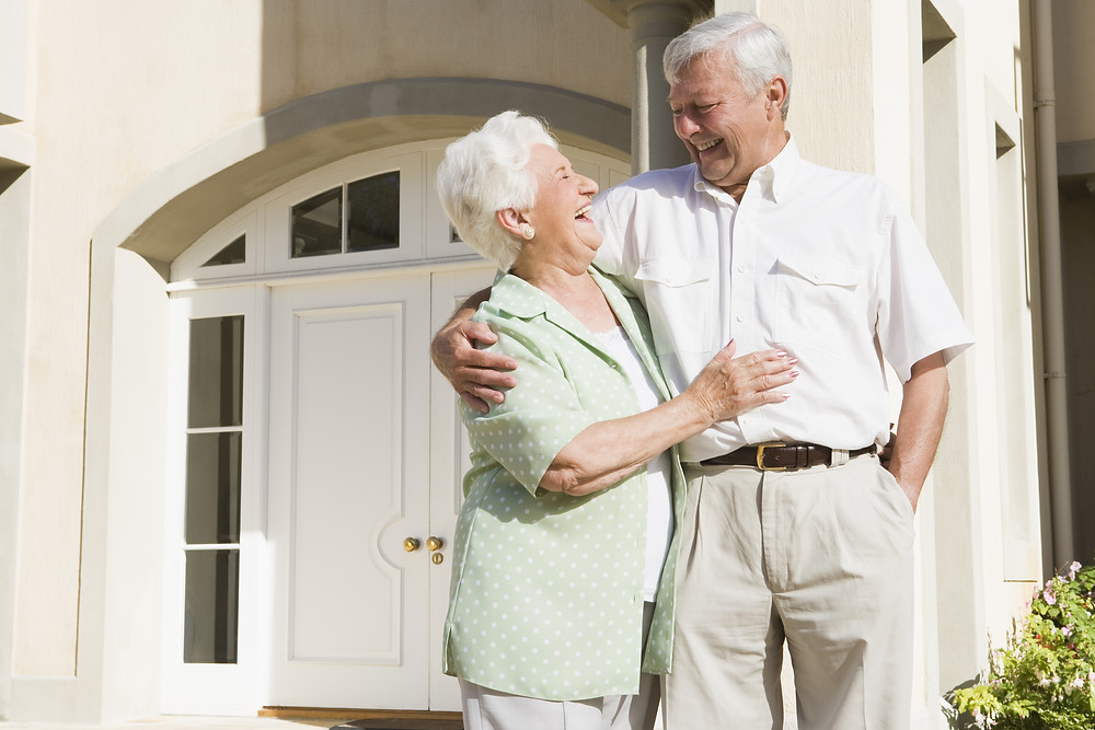 Seniors at home to downsize
