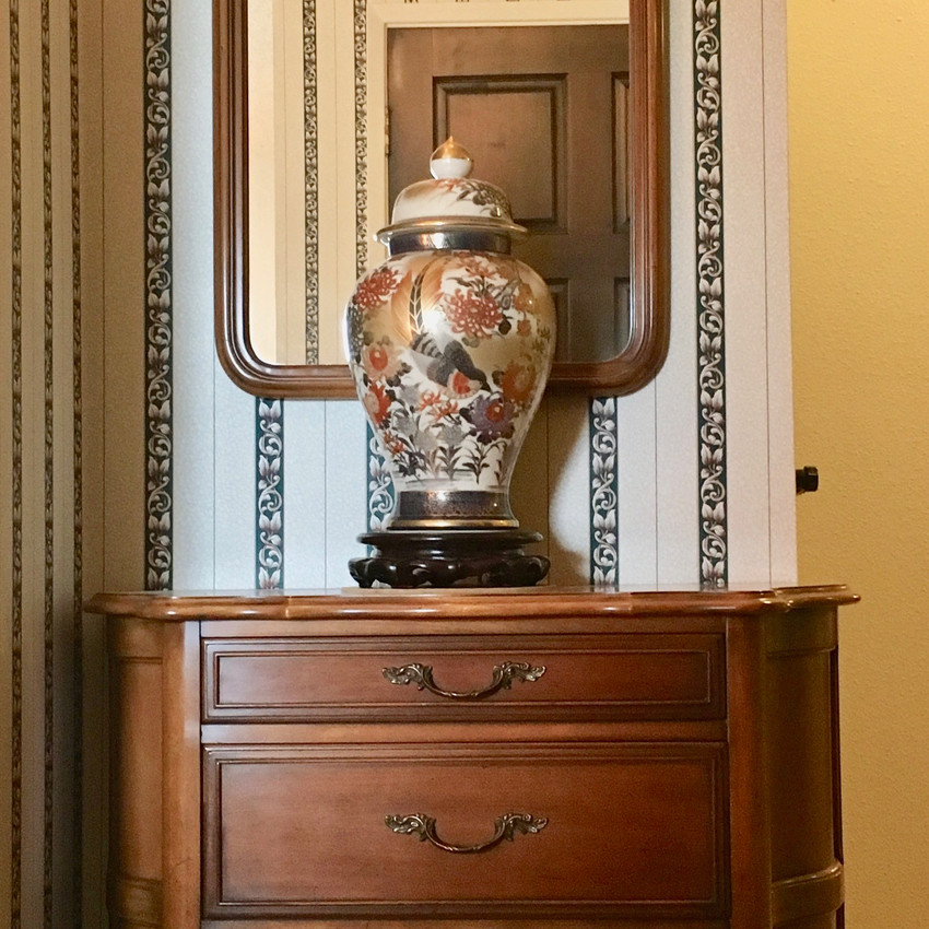 French Provincial Chest + Mirror