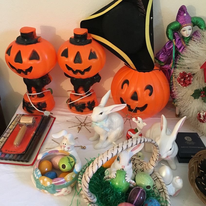 Easter and Halloween Decor