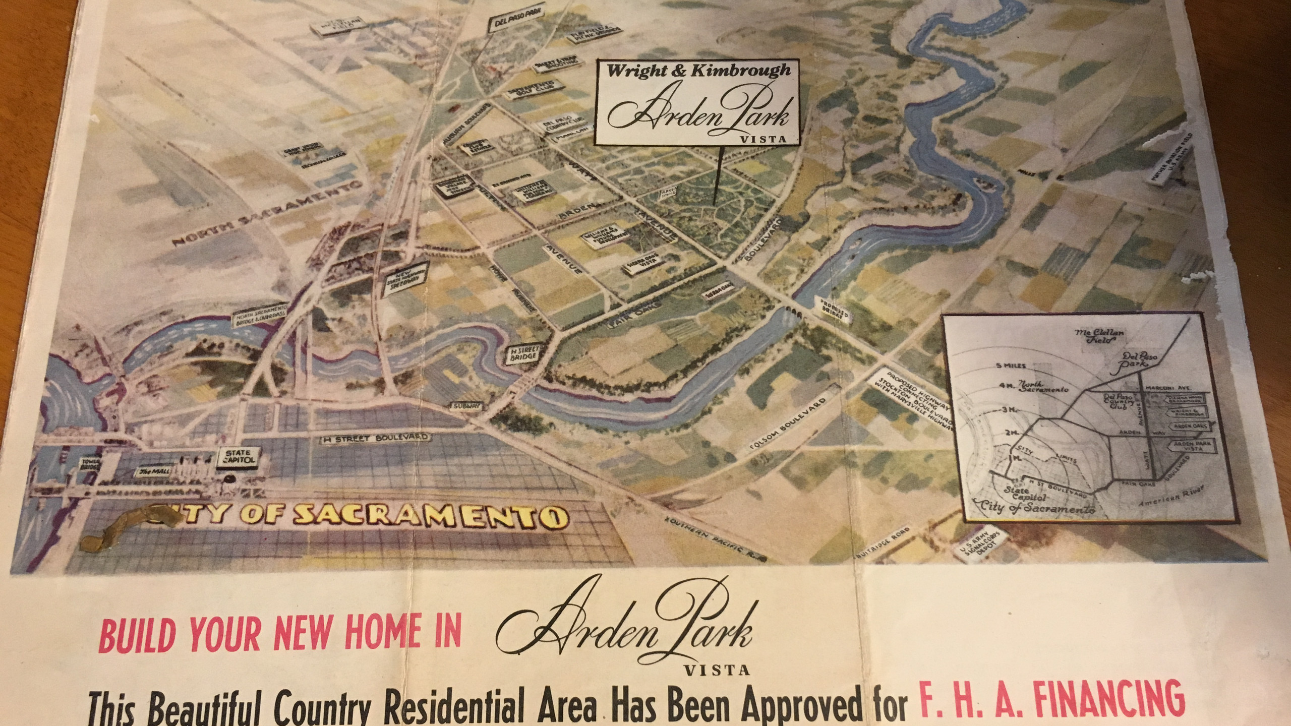 Original Arden Park Brochure!