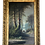 Thumbnail: 1897 ADM Cooper Large California Birches Along Stream Landscape Painting