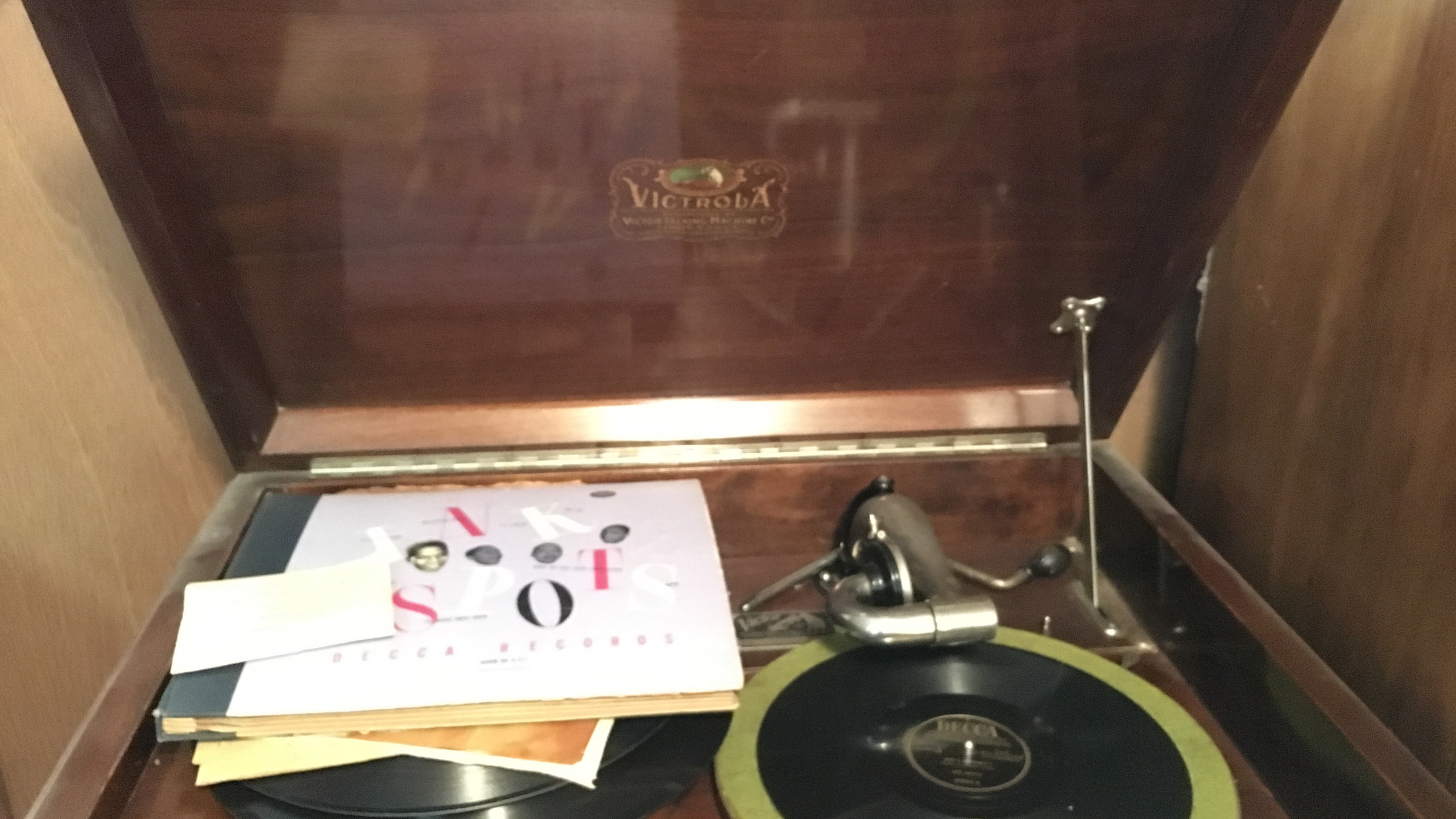Inside of Record Player