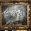 Thumbnail: Werner Gisin Snowy Grand Teton Mountain Oil Painting