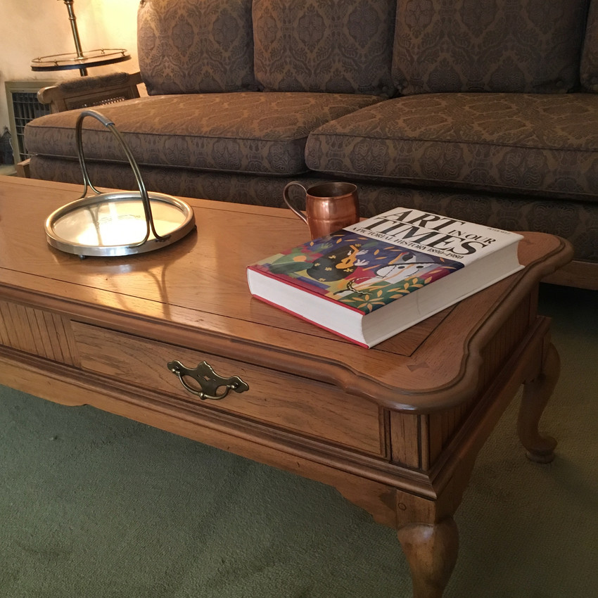 Country Manor Coffee Table