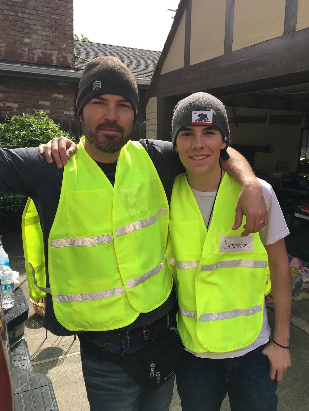 Micah & Sebastian Nunneley (Father & Son)