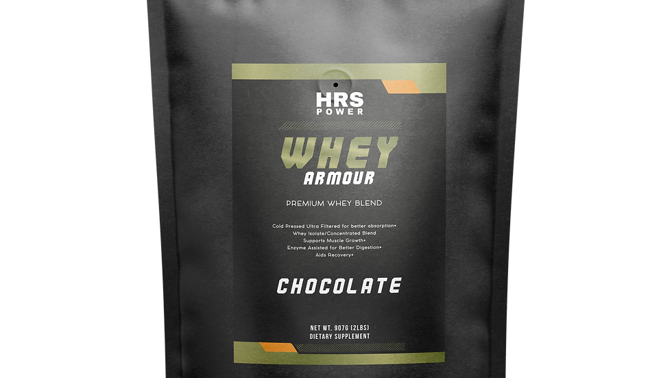 HRS Power - Whey ARMOR 2LB Chocolate