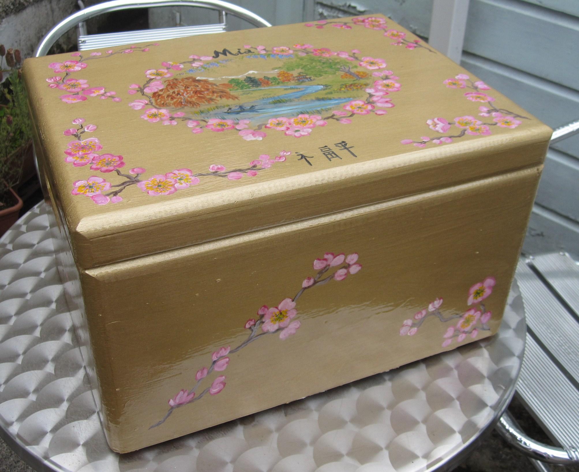 Box.floral