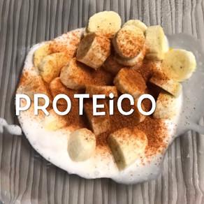 Smoothie de banana com canela