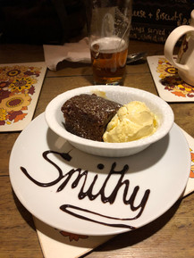 Puddings at The Old Smithy Inn