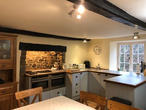 Kitchen at Cobble Cottage