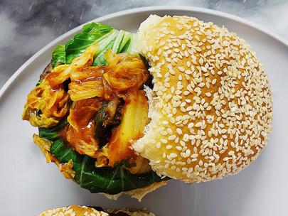 Korean-Fusion Burger