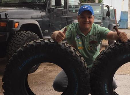Ganhador do jogo de pneus Coopertires já recebeu o prêmio