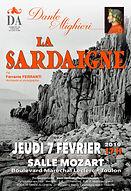 La Sardaigne Ferrante Ferranti affiche D