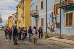 A Orgosolo : fresques murales