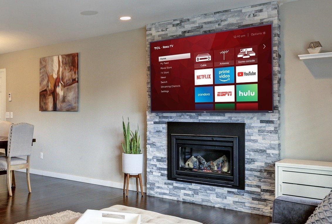 TV Mount - Brick or Stone