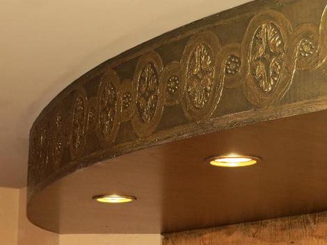 Bas relief molding