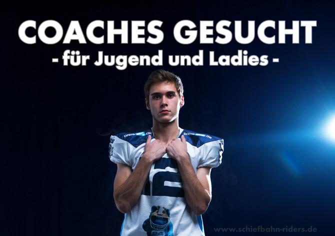 Jugend- und Ladies Coaches gesucht