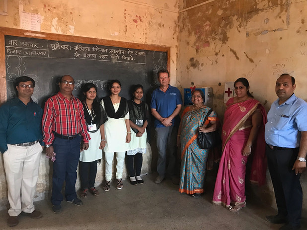 Teachers at the college