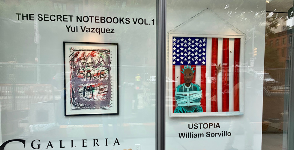 Yul Vázquez: The Secret Notebooks Volume 1 - William Sorvillo: Ustopia 7