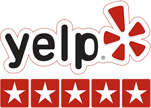 Yelp 5-Star Rating Logo