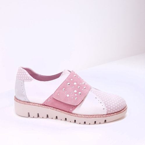 Maria Leon Pink Loafers