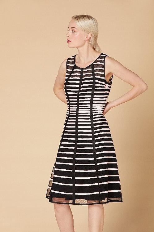Derhy Black/Pink Dress