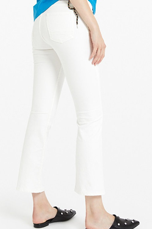 ottod'Ame white flare jeans