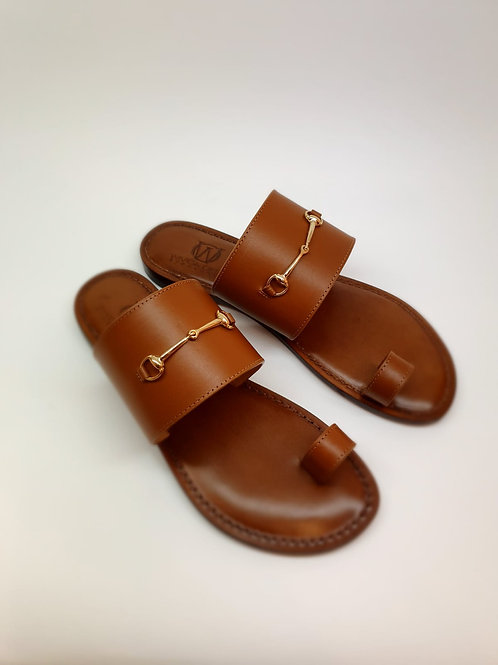 WIVICA  Leather Sandal