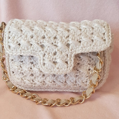 WIVICA small crochet handbag