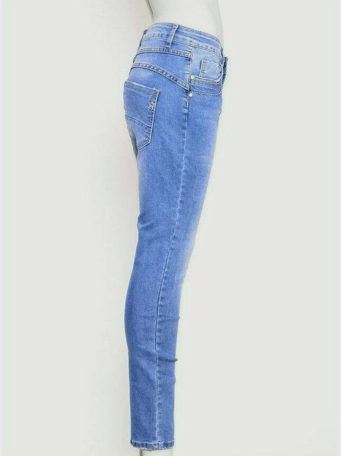 Chica London Jeans w zip
