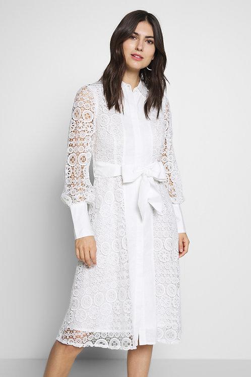 Derhy White Lace Dress