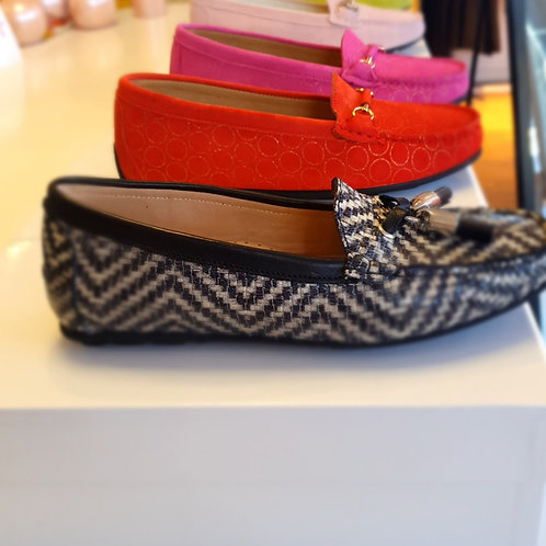 Wivica's  Braided Loafers