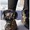 Thumbnail: NIS winter boots  black w gold