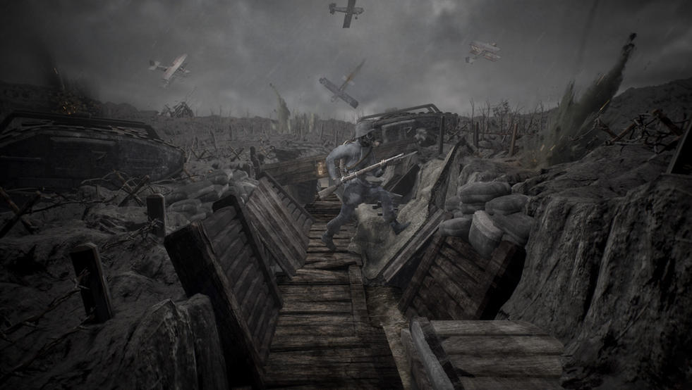WW1 Scene