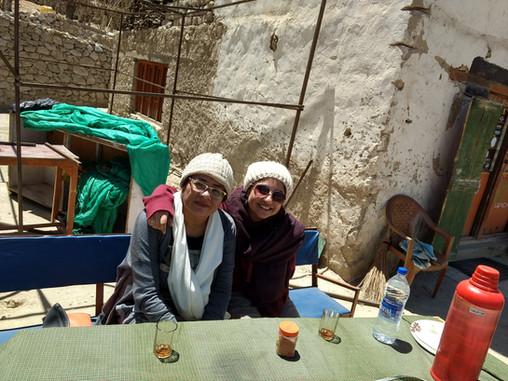Ladakh with my woman 001, mom