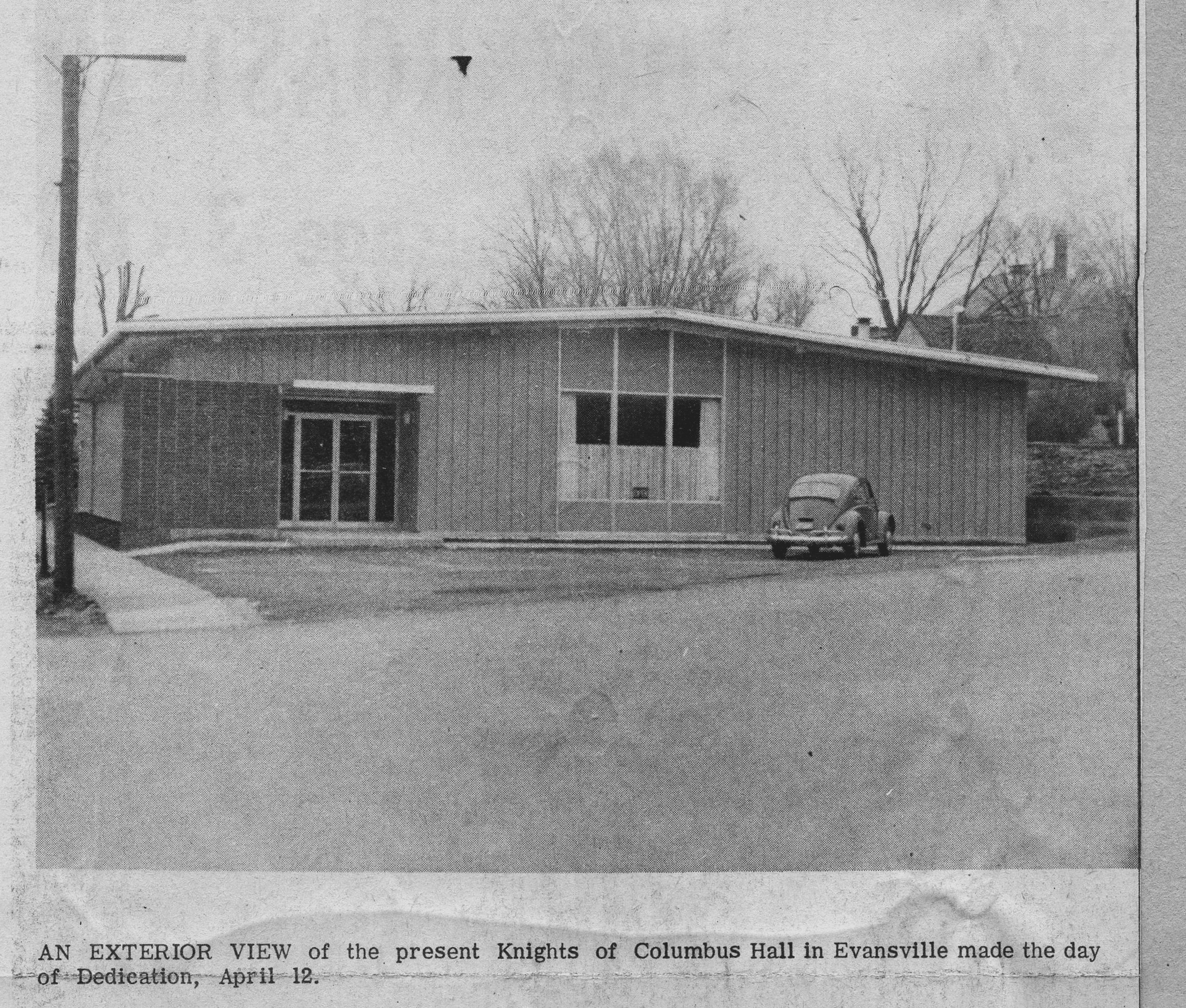 The finished Building circa 1964