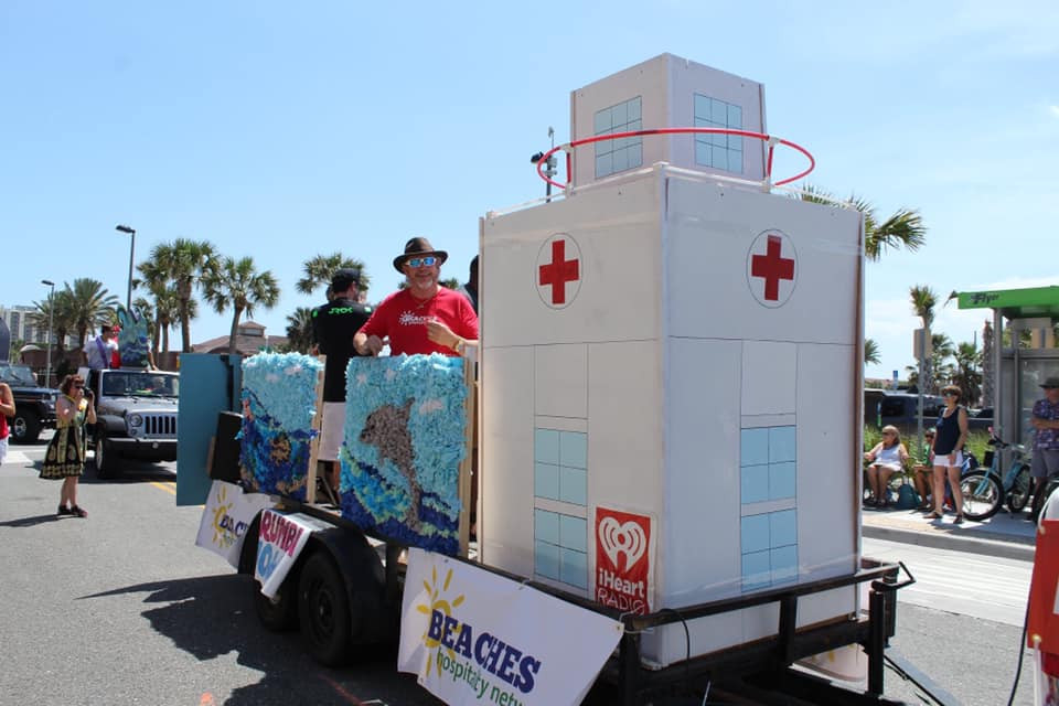 Replica of the Lifeguard station
